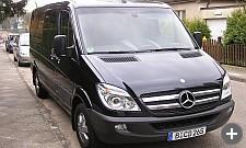 Business Class Van hire