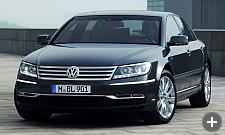 VW Phaeton rental